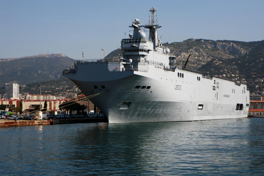 Le Mistral. Crédits : Wikimedia