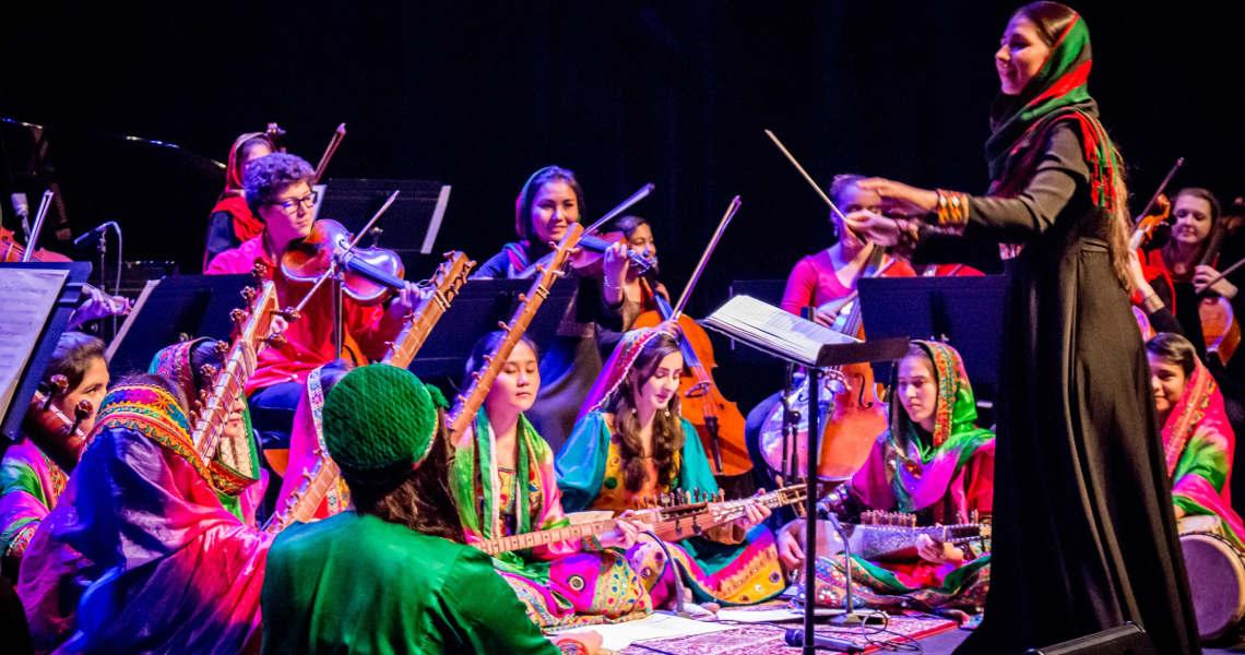 Zohra orchestre afghanistan Une